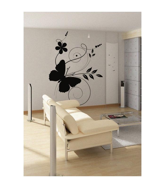 Stickere Decorative Cu Fluturi Fluture Pe Flori