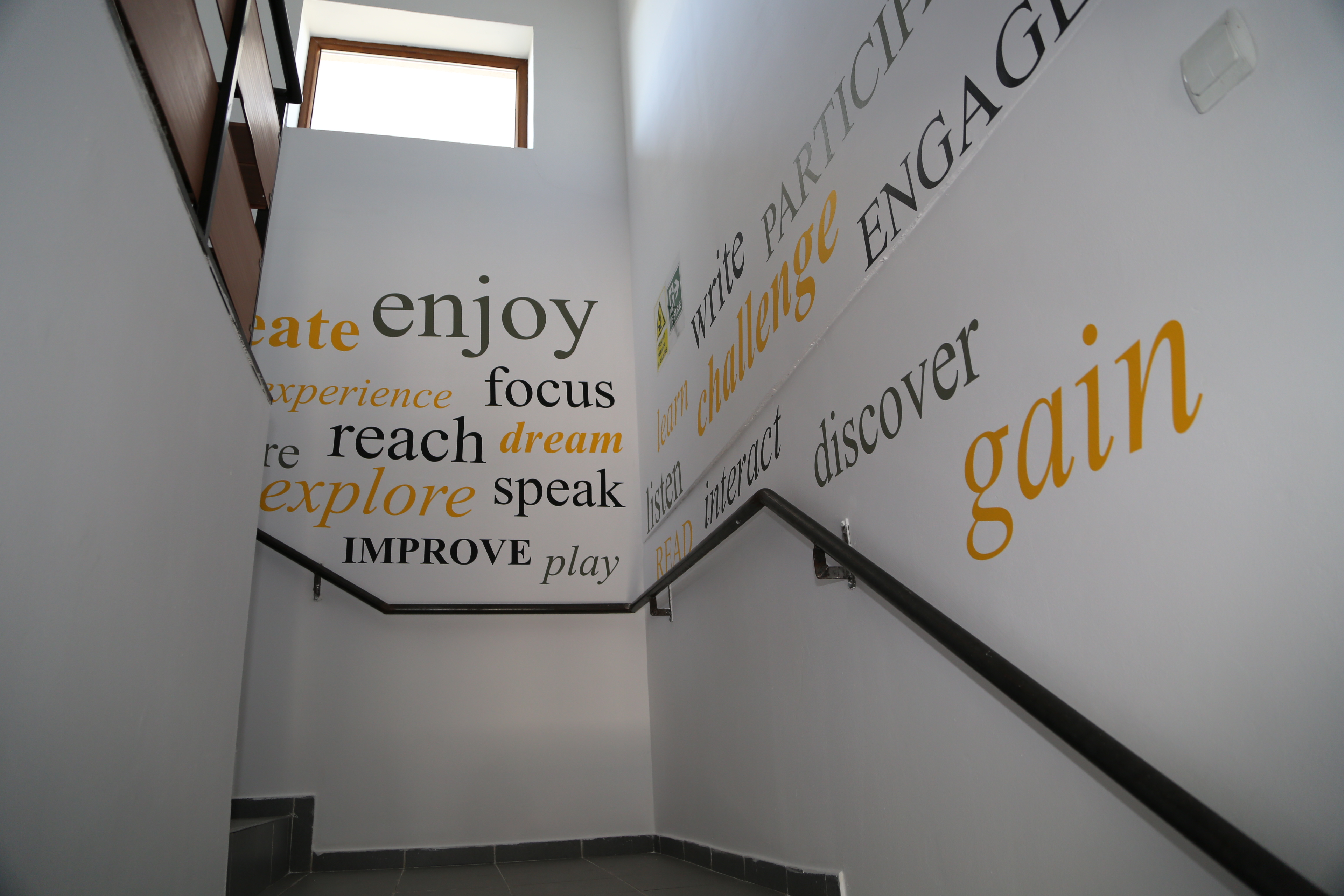 Cuvinte pe pereti